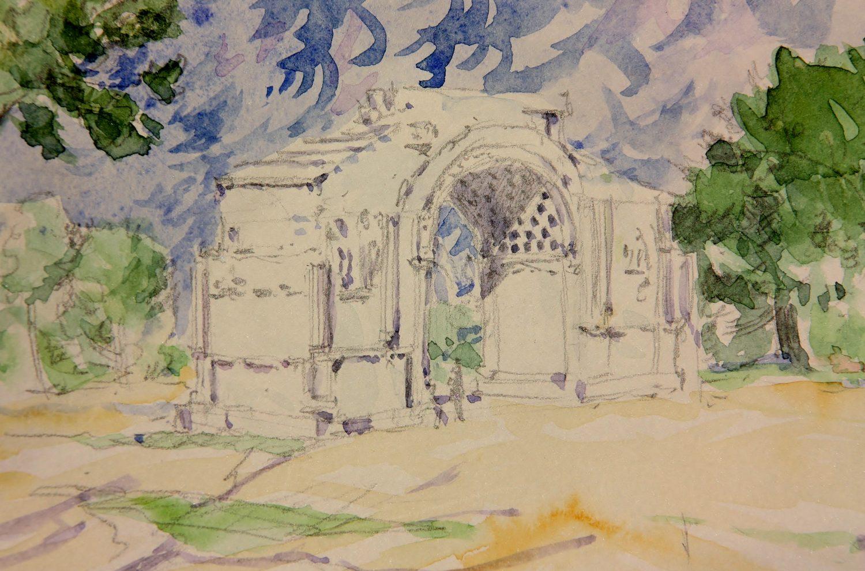 2012 Arco Romano en St Remy de Provenza